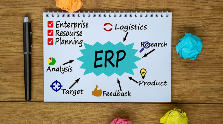 ERP software concept in Australia
