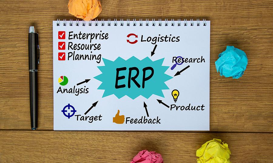 ERP software concept in Australia